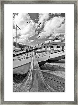 Frenchtown Framed Print
