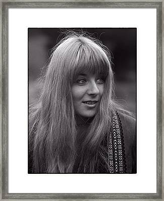 Frenchy Framed Print by Hal Norman K