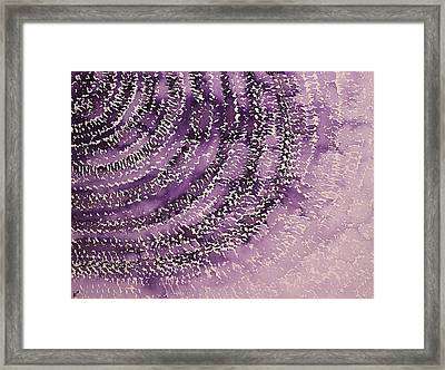Frequency Increase Original Painting Sold Framed Print