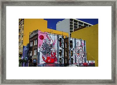 Frescos Framed Print