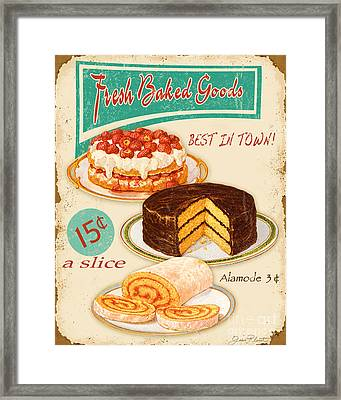 Fresh Baked Good Framed Print by Jean Plout