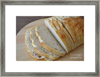 Fresh Baked Sourdough Framed Print by Mary Deal