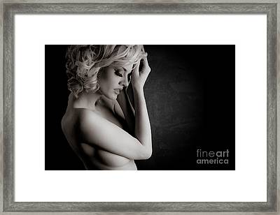 Fresh Beauty Framed Print by Jt PhotoDesign