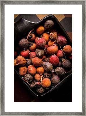 Fresh Beetroot Framed Print