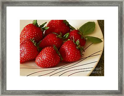 Fresh Berries Framed Print by Inspired Nature Photography Fine Art Photography