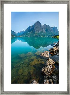 Framed Print featuring the photograph Fresh Breath by Rose-Maries Pictures