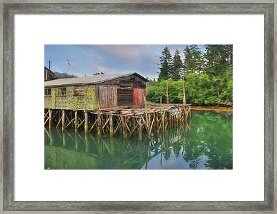 Fresh Catch Framed Print by Lori Deiter