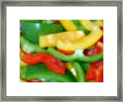 Fresh Colours Framed Print by Stefan Petrovici