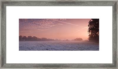 Fresh Cool Morning  Framed Print