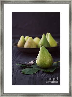 Fresh Figs Framed Print by Mythja  Photography