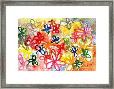 Fresh Flowers Framed Print