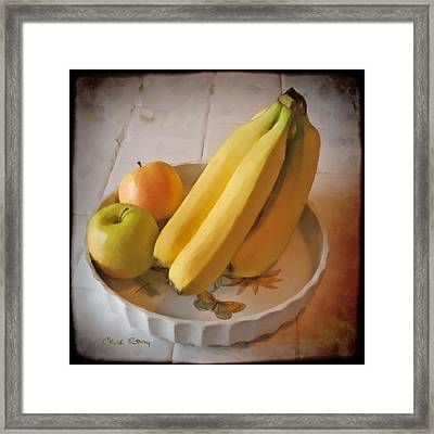 Fresh Fruit Framed Print by Chuck Staley