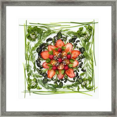 Fresh Fruit Salad Framed Print