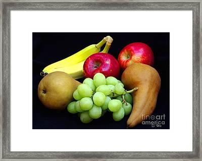 Fresh Fruit Two Framed Print by James C Thomas