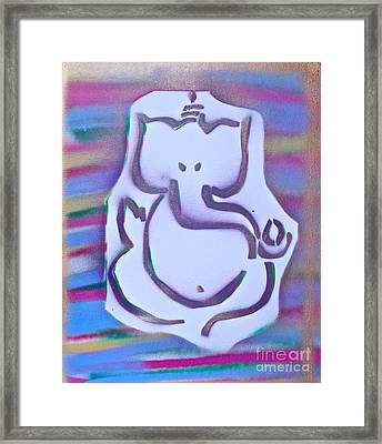 Fresh Ganesh 1 Framed Print by Tony B Conscious