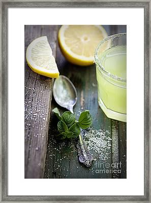 Fresh Lemonade Framed Print