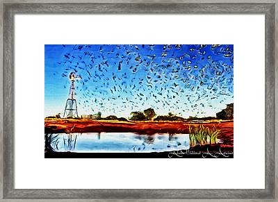Fresh Mill Framed Print
