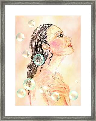 Fresh New Day Framed Print