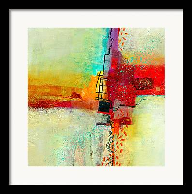 Acrylic Collage Framed Prints