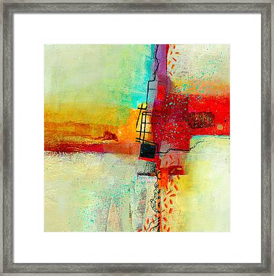 Fresh Paint #2 Framed Print by Jane Davies
