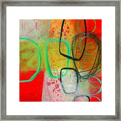 Fresh Paint #3 Framed Print by Jane Davies