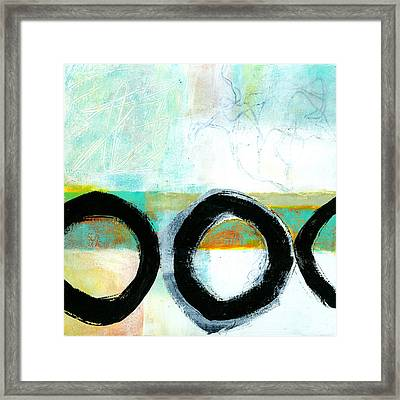 Fresh Paint #4 Framed Print by Jane Davies