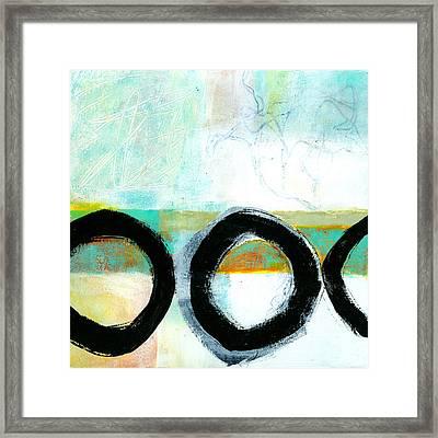 Fresh Paint #4 Framed Print by Jane Davies