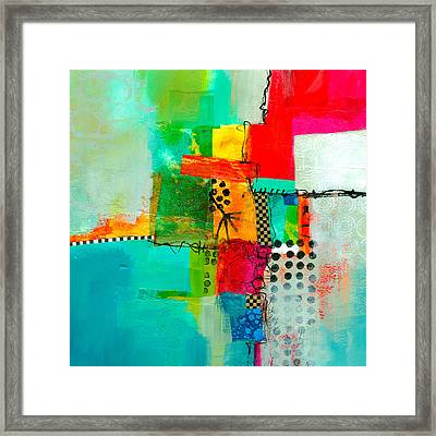 Fresh Paint #5 Framed Print by Jane Davies