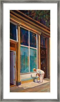 Fresh Paint Framed Print by Athena Mantle