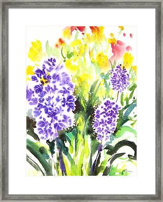 Fresh Pick No.385 Framed Print by Sumiyo Toribe