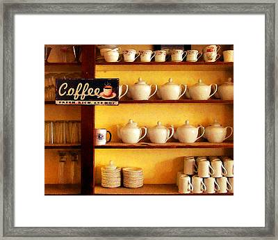 Fresh Rich And Hot Framed Print by Timothy Bulone