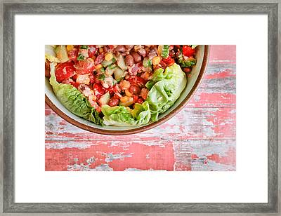 Fresh Salad Framed Print