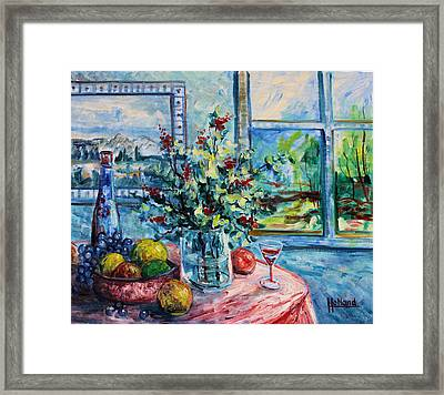 Fresh Spring Framed Print by Leonard Holland