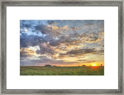 Fresh Start Framed Print
