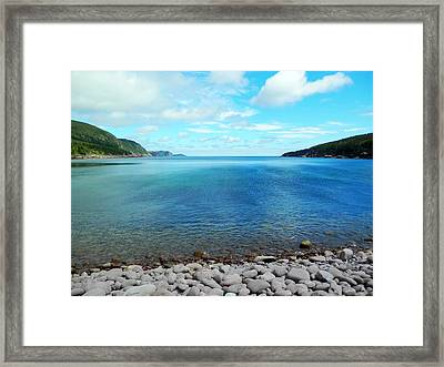 Framed Print featuring the photograph Freshwater Bay by Zinvolle Art