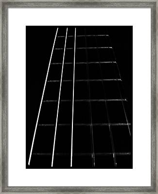 Fretboard Framed Print
