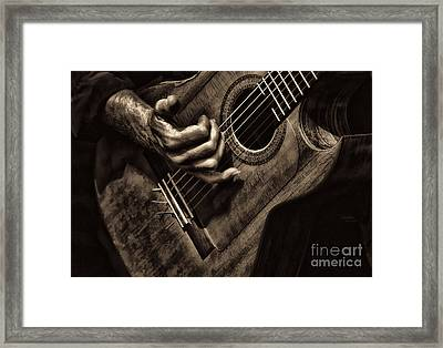 Fretwork Framed Print by Clare VanderVeen