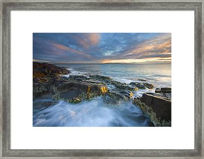 Freycinet Cloud Explosion Framed Print by Mike  Dawson