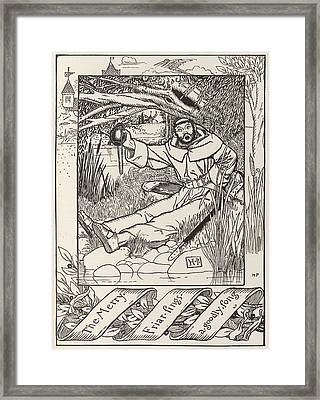Friar Tuck Framed Print by British Library