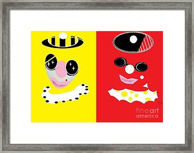 Frick And Frack  Framed Print