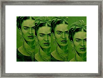 Frida 4u Framed Print