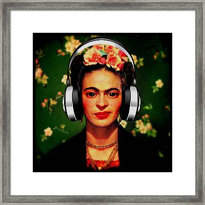 Frida Jams Framed Print