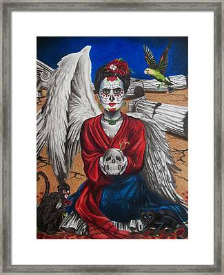 Frida Kahlo Framed Print by Amber Stanford