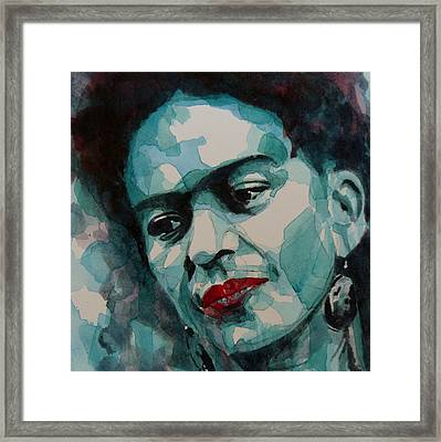 Frida Kahlo Framed Print by Paul Lovering