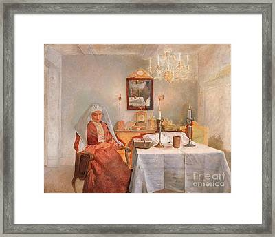 Friday Evening Framed Print by Celestial Images