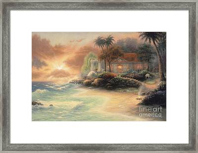 Friday Evening Summer Framed Print