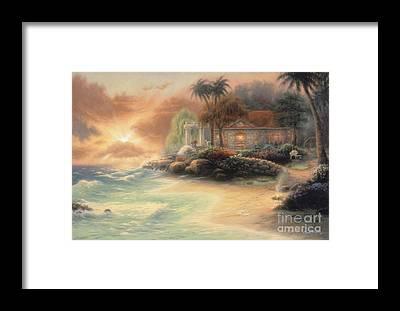 Vacation Getaway Framed Prints