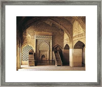 Friday Mosque Masjed-e-jomeh. 1366 Framed Print by Everett
