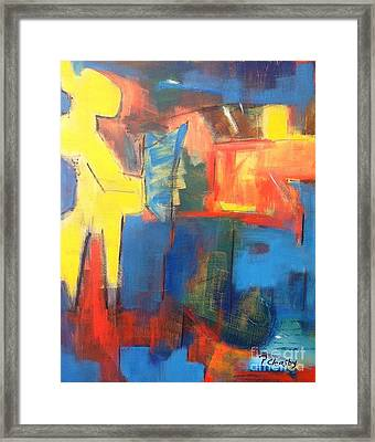Friday Night Commute Framed Print by Patricia Cleasby