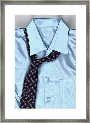Friday Night - Men's Fashion Art By Sharon Cummings Framed Print